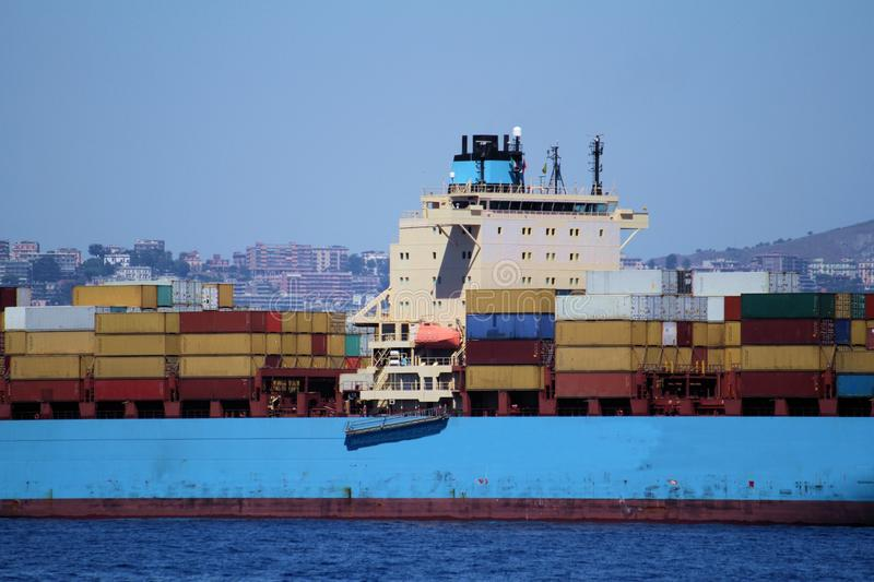 Download Containers Transport, Starboard Side Stock Image - Image: 26607757