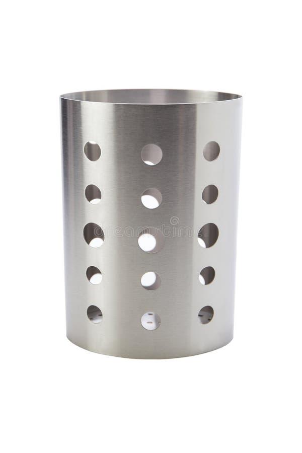 Containers voor keukengerei zoals Keerder, gietlepels, lepels, eetstokjes, enz. royalty-vrije stock afbeeldingen