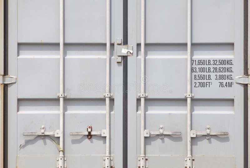 Containerversand lizenzfreies stockfoto