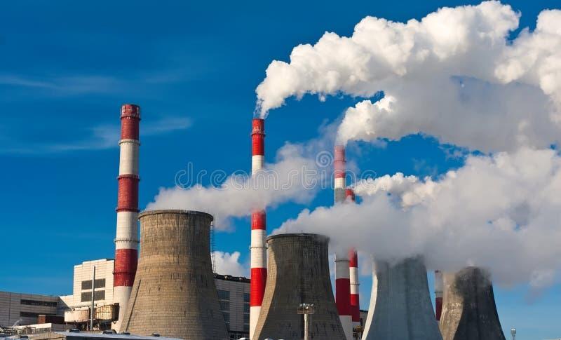 Contaminación atmosférica imágenes de archivo libres de regalías