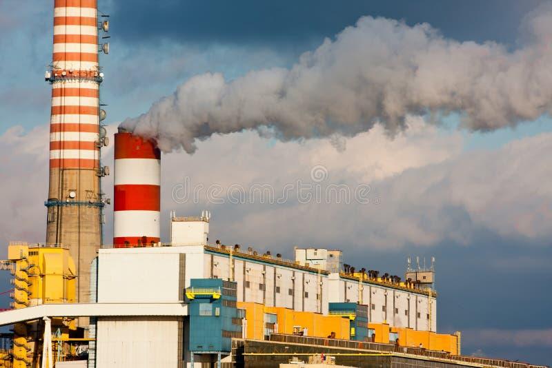 Contaminación del humo fotografía de archivo libre de regalías