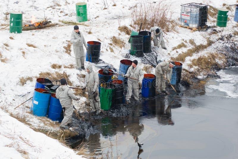 Contaminación en Korolev imagenes de archivo