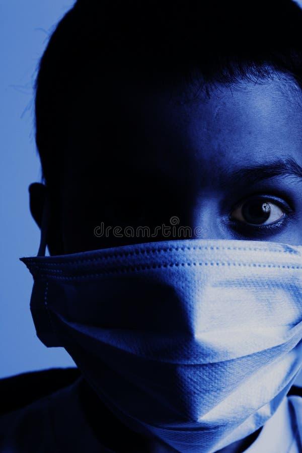 Contaminazione del virus fotografia stock libera da diritti