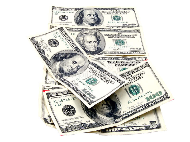 Contant geld 4 stock foto