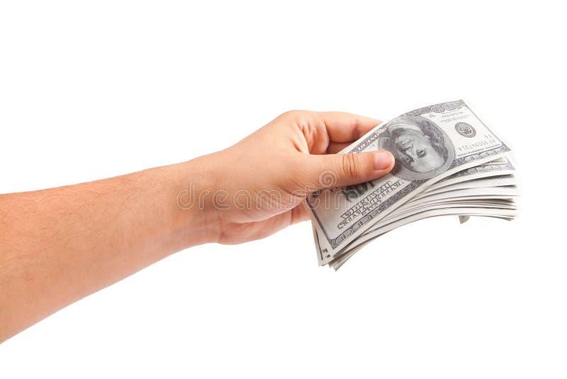 Contant geld, geld royalty-vrije stock afbeelding