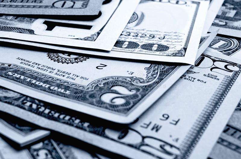 Contant geldamerikaanse dollars royalty-vrije stock foto