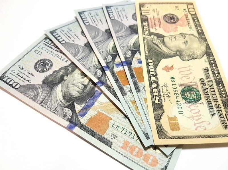 Contant gelddollars royalty-vrije stock foto
