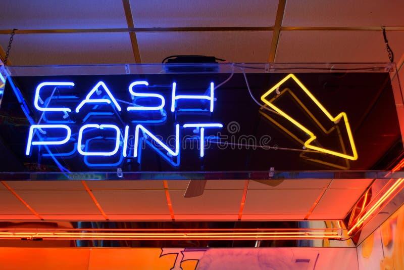 Contant geldpunt stock afbeeldingen