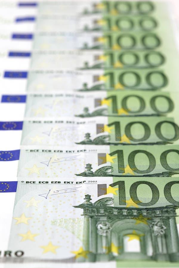 contas 100-Euro fotos de stock royalty free