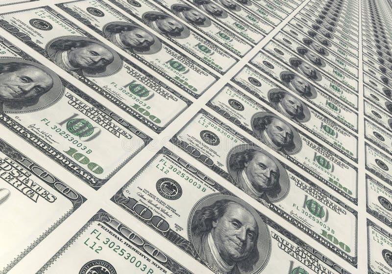 Contas de dólar fotos de stock royalty free