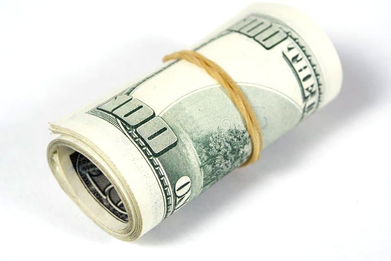 Contas de dólar imagem de stock