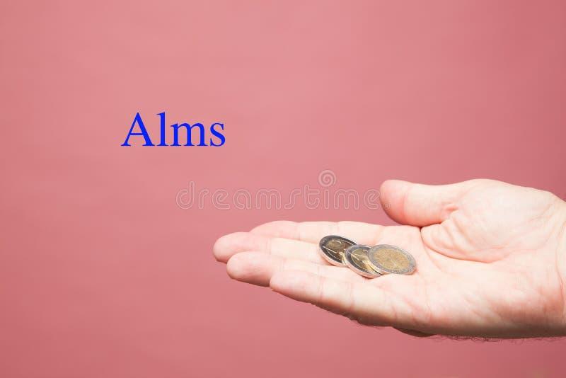 Contas do Euro no assistente de uma pessoa fotos de stock royalty free