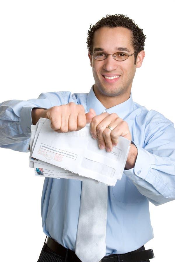 Contas Do Homem De Negócio Foto de Stock Royalty Free