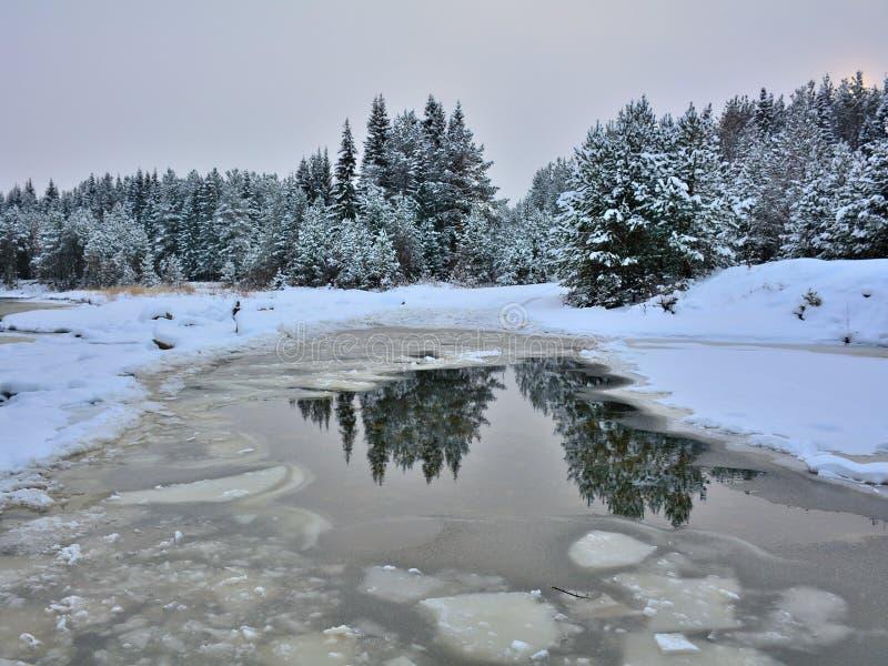 Conte d'hiver photo libre de droits