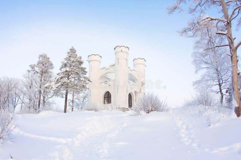 Conte de fées de l'hiver photos stock