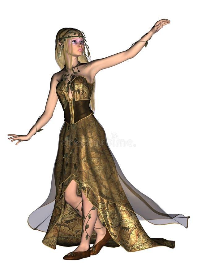 Conte de fées Elf illustration libre de droits