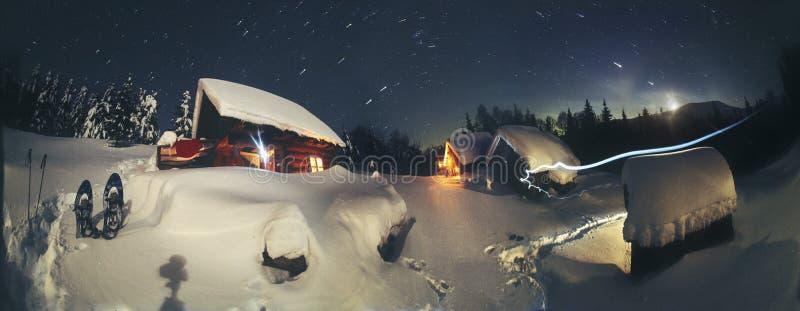Conte de Noël pour des grimpeurs photo libre de droits