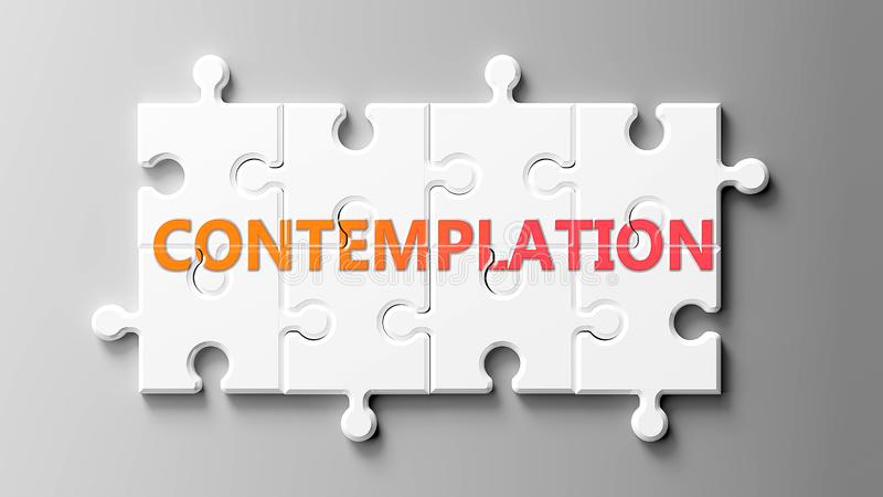 Contemplation Word Stock Illustrations – 618 Contemplation Word Stock  Illustrations, Vectors & Clipart - Dreamstime