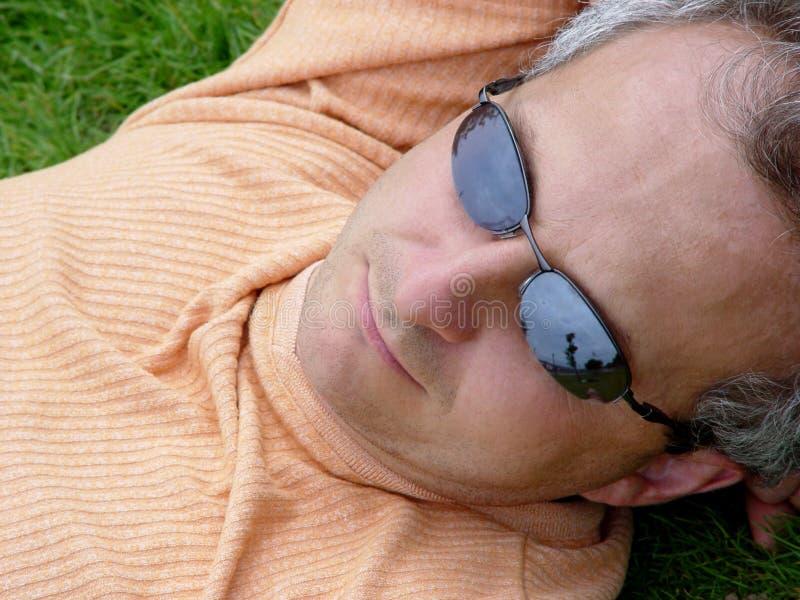 Contemplazione Fotografie Stock