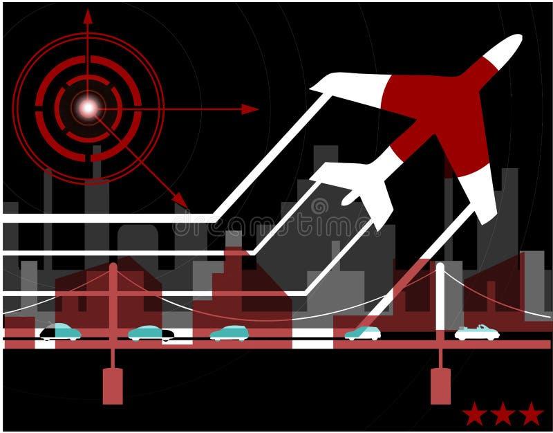 Contemporary 7 stock illustration