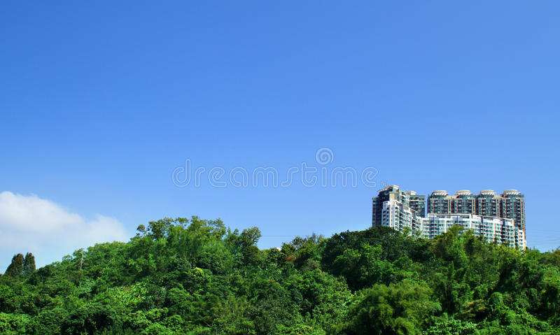 Contemporary Apartment Buildings royalty free stock images