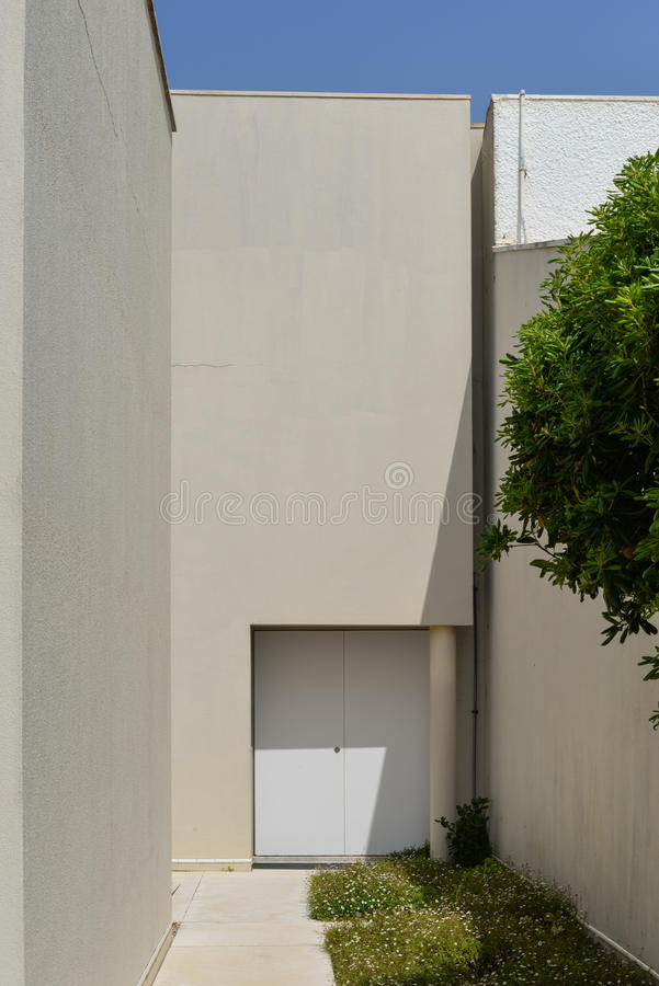 Contemporary architecture in Aguda. royalty free stock photography