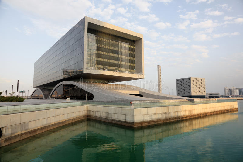 Download Contemporary Architecture In Bahrain Editorial Photo - Image of port, arabia: 38647621