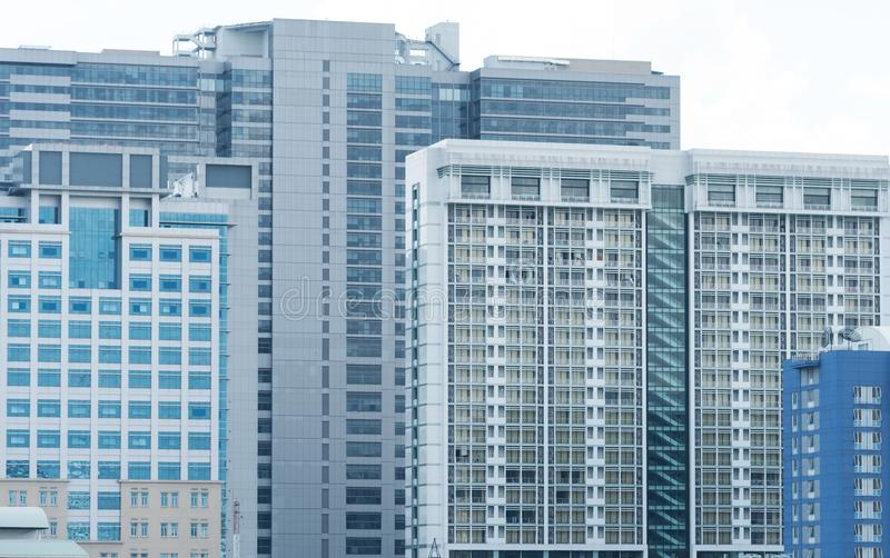 Contemporary Architecture Office Building Cityscape. Business an royalty free stock photo