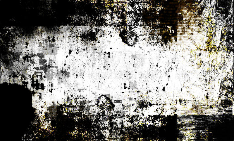 Contemporary arty grunge texture stock illustration