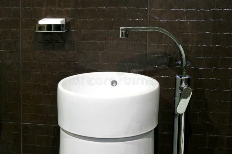 Contemporary basin royalty free stock image