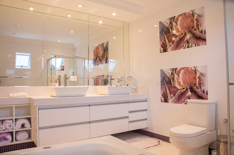 Contemporary Bathroom Interior Free Public Domain Cc Image