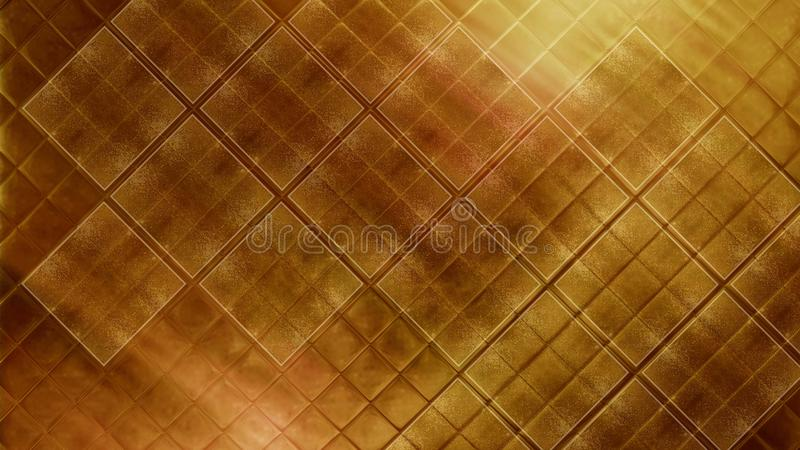 Contemporary Bright Gold Tile Glossy Mosaic Earthenware Material ...
