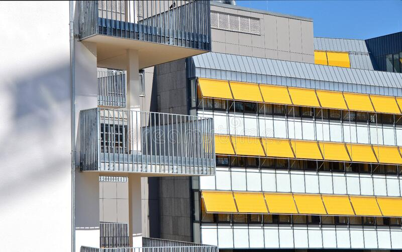 Contemporary building stock image