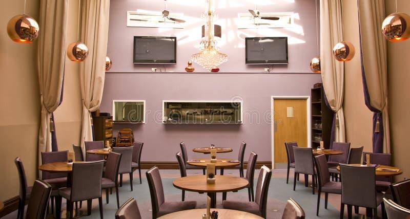 Contemporary Cafe Stock Photo
