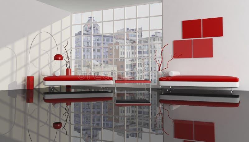 Contemporary City Apartment Royalty Free Stock Photos