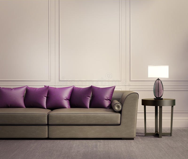 purple and beige living room contemporary classic living room beige leather sofa stock 19382