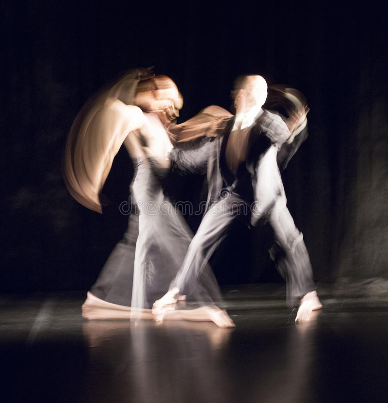 Contemporary dance stock photos