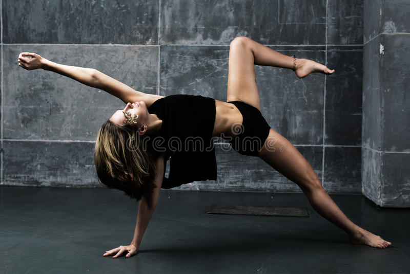 Contemporary Dancer stock photo