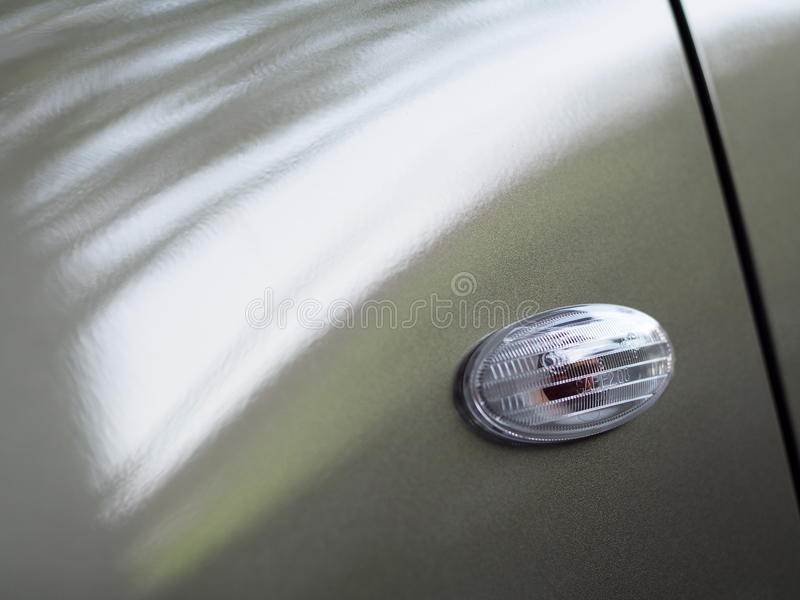 Contemporary design style car turn signal blinker lamp cover royalty free stock photography