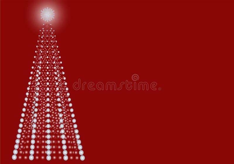 Contemporary Dot Christmas Tree Royalty Free Stock Image