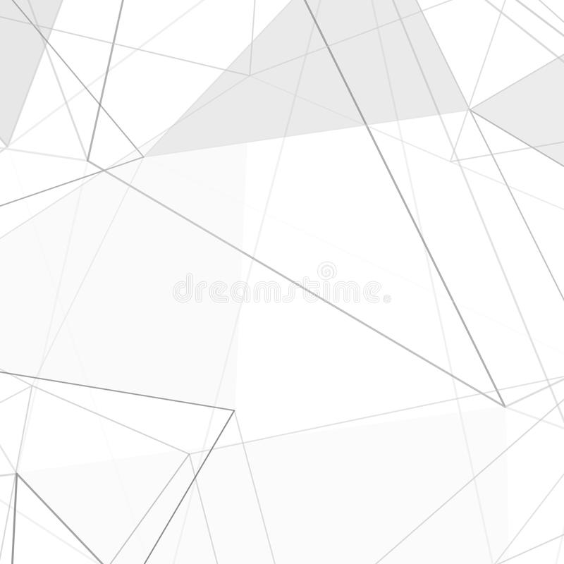 Gray White Urban Contemporary Modern Minimalism High Tech: Contemporary Hi-tech Abstract Triangle Design Layout Stock