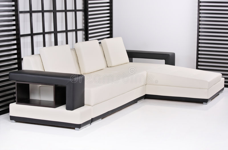 Download Contemporary interior stock image. Image of couch, comfortable - 6299393