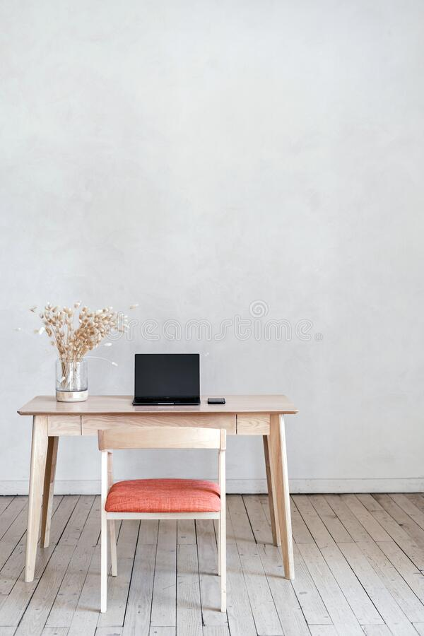 Contemporary Interior Design In Modern House With Living Room Stock Photo Image Of Device Apartment 197713698