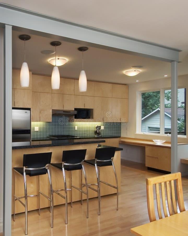 Contemporary kitchen stock photos