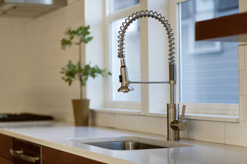Download Contemporary Kitchen With Fixture Stock Photo - Image: 23406110