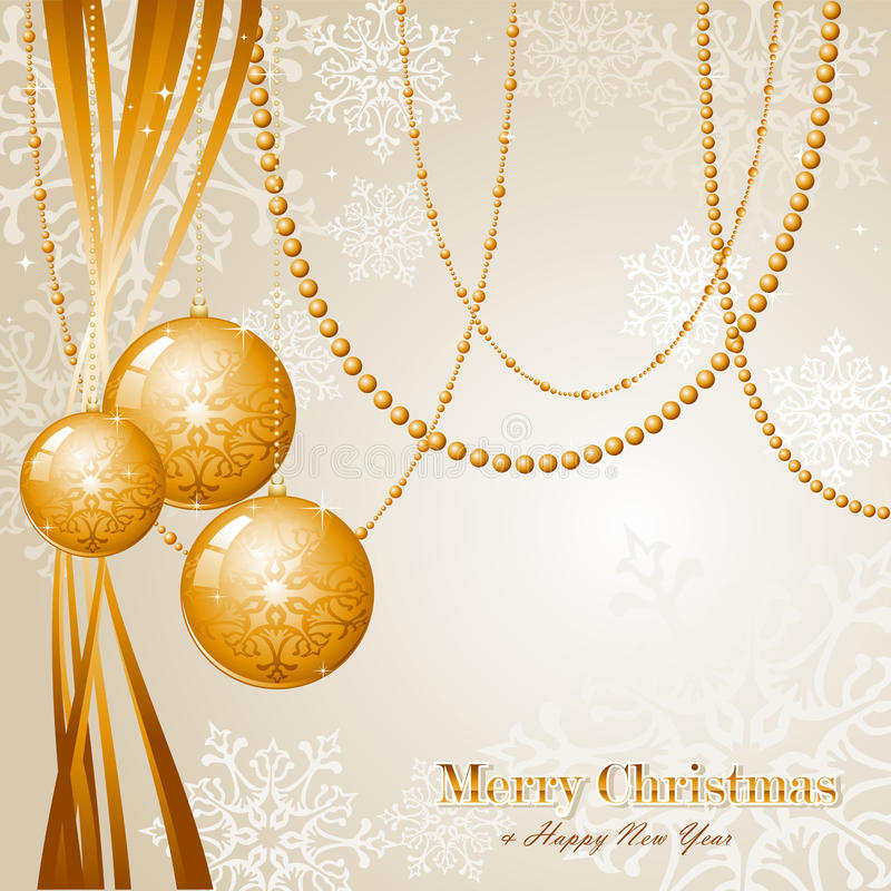 Contemporary Merry Christmas background EPS10 vect stock image