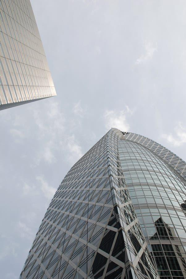 Contemporary Tokyo Buildings royalty free stock image