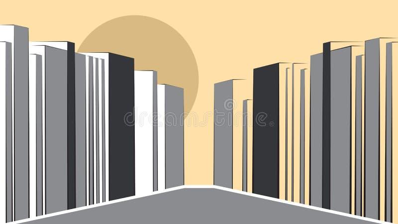 Download Contemporary Urban Landscape Stock Vector - Image: 27254496