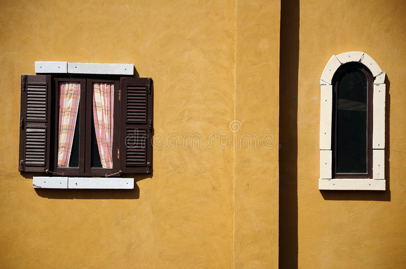 Download Contemporary windows stock image. Image of exterior, curtain - 26654489