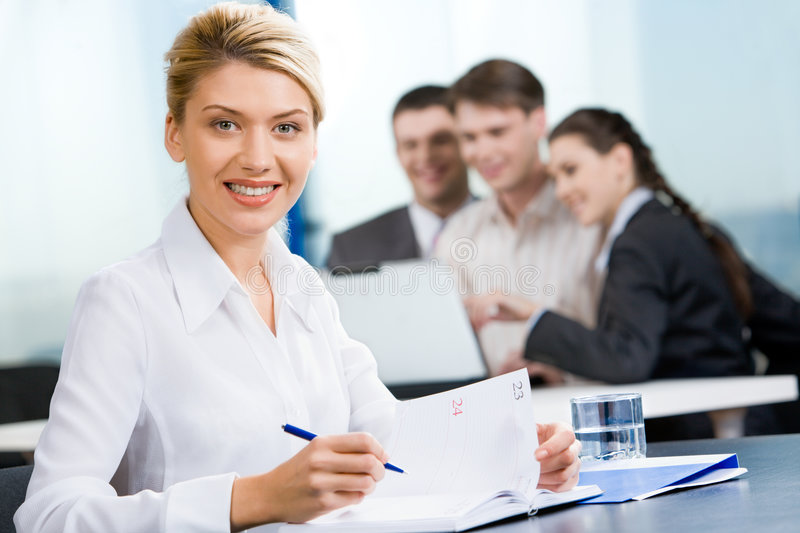 Download Contemporary woman stock image. Image of conference, group - 3612005